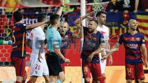 ملخص ونتيجة مباراة برشلونة واشبيلية 2-0 امس الاحد 22 / 5 / 2016 , اهداف مباراة برشلونة امس فى نهائى كأس ملك اسبانيا