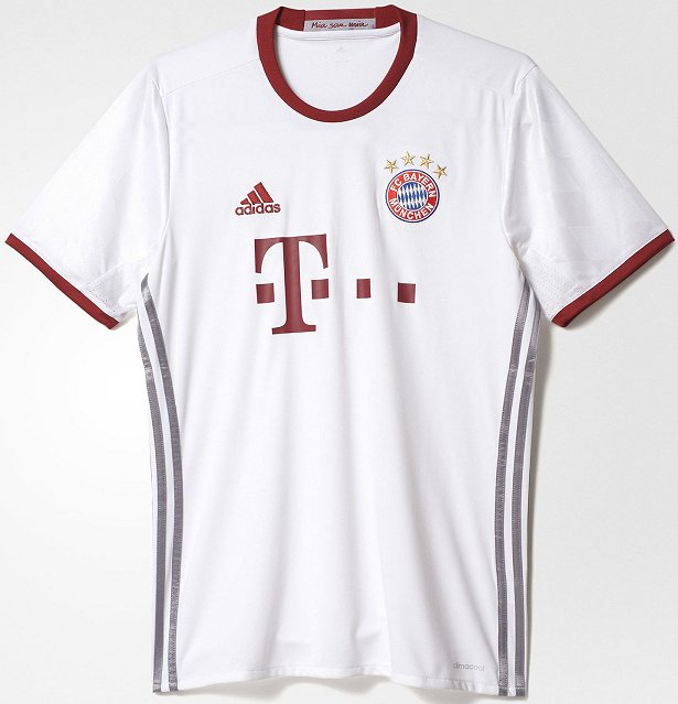 2bed265d10 Adidas lança a nova terceira camisa do Bayern de Munique - Show de ...