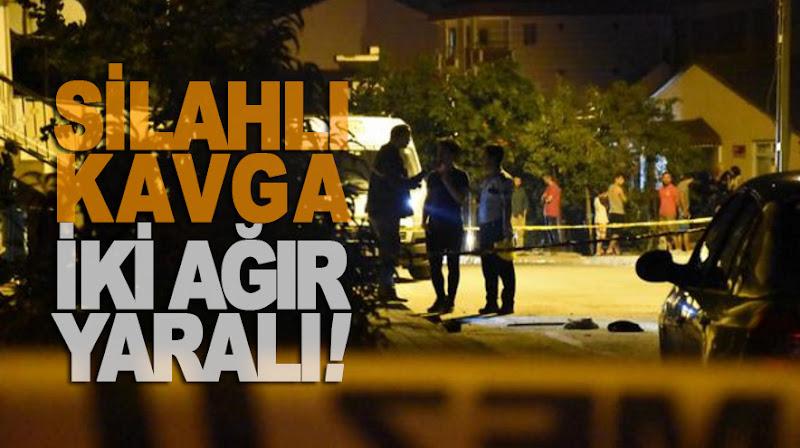 Yenidoğan'da silahlı kavga: 2'si ağır 4 yaralı!
