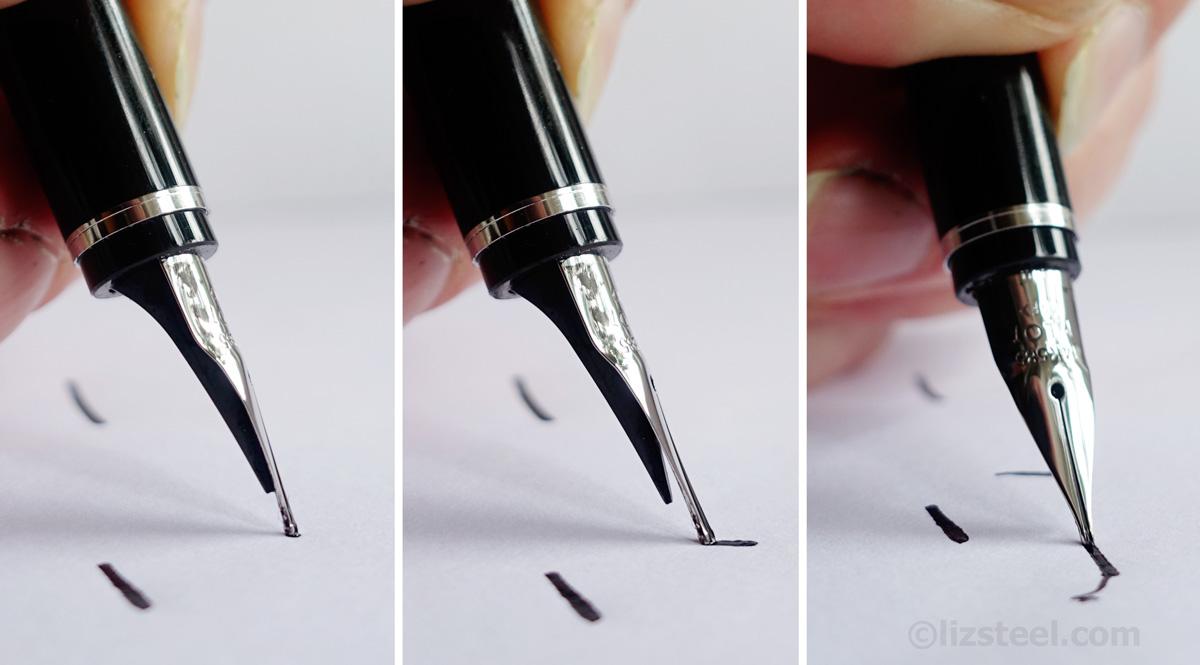 fountain pen sketching part
