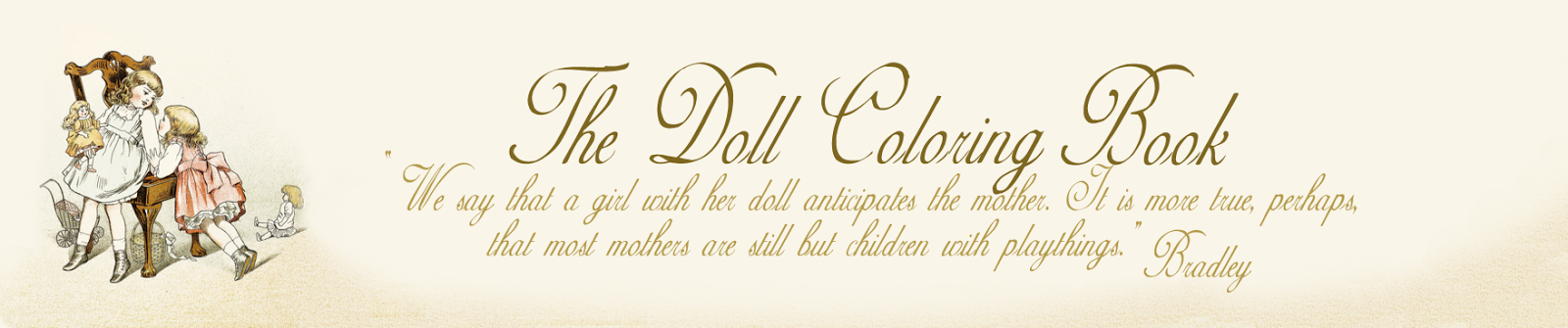 The Doll Coloring Book