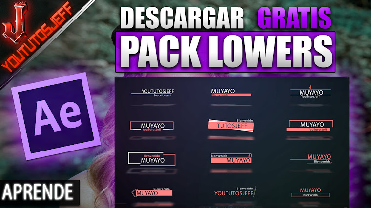 Pack de Lower Thirds After Effects