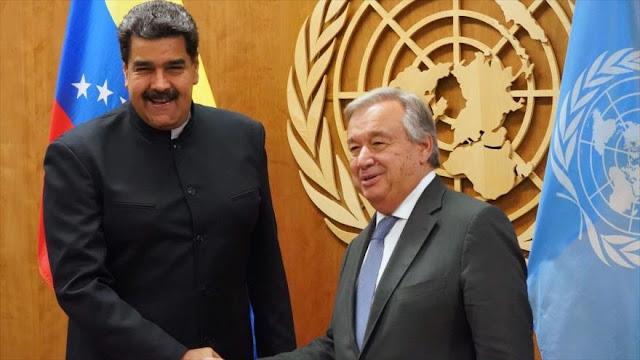 ONU seguirá trabajando con Venezuela en nuevo mandato de Maduro
