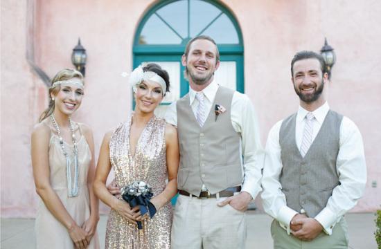 "Matrimonio ""Il grande Gatsby"", vintage wedding guests"