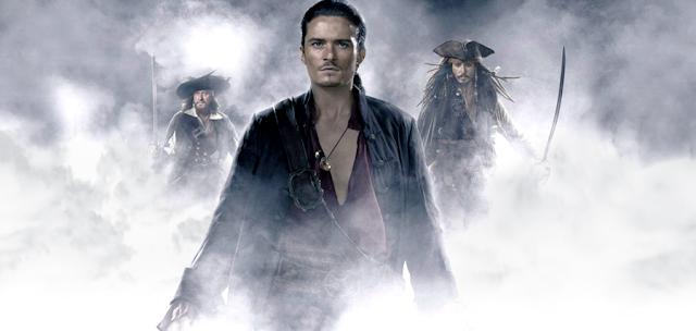 Orlando Bloom în Pirates Of The Caribbean 3
