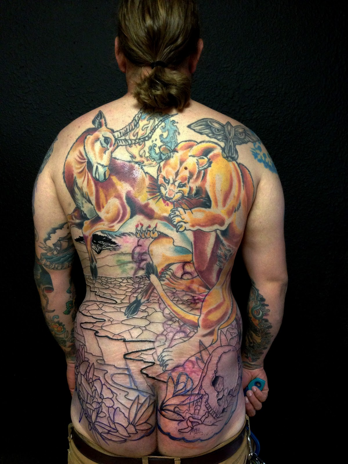 Matt Hodel Tattoo: Forward Progress On Backs