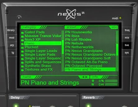 No content library on refx nexus vst