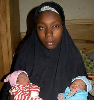 16 year old girl gives birth 4 babies bauchi
