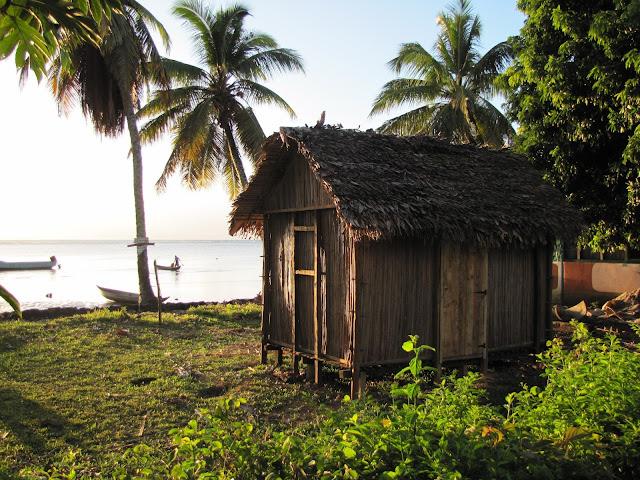 sainte marie madagascar malagasy house beach