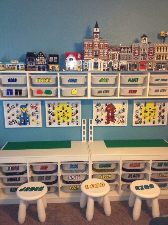 Idée Rangement Playmobil astuces et idées de rangement pour chambre d'enfants