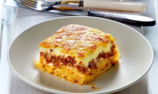 Greek Pasticcio Recipe