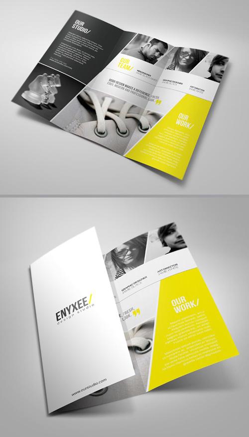beautiful brochure designs inspiration dezignhd best source for designer and developers. Black Bedroom Furniture Sets. Home Design Ideas