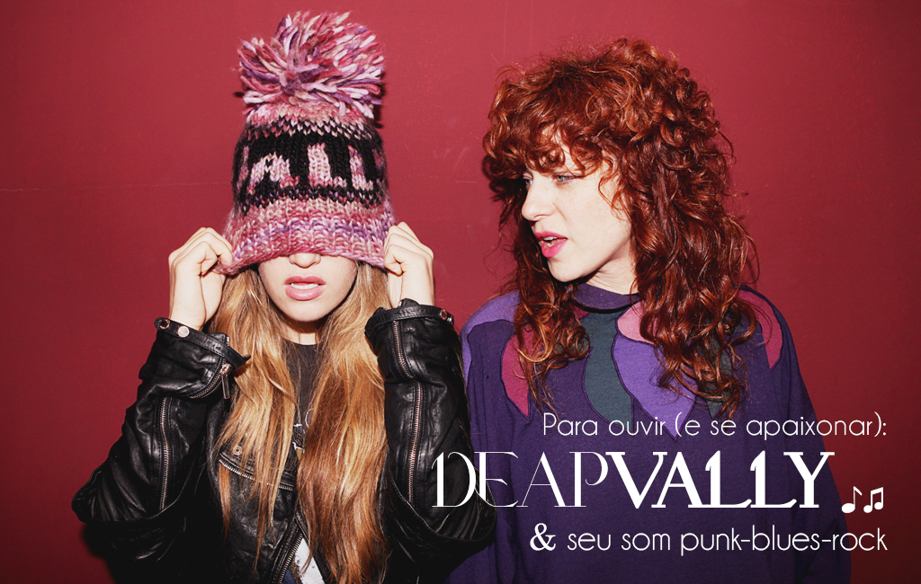 Deap Vally banda de punk blues rock