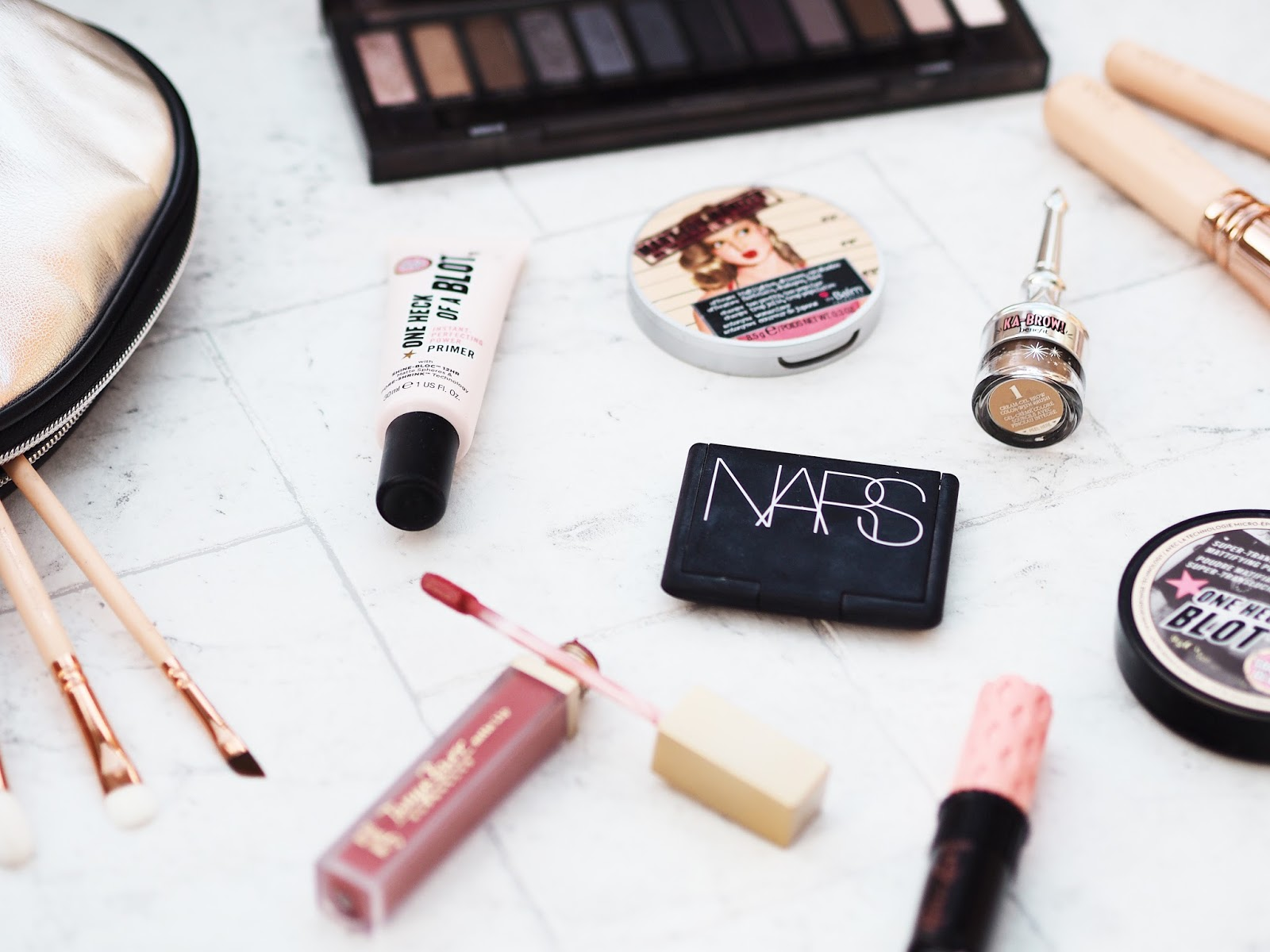 Make Up Flat Lay