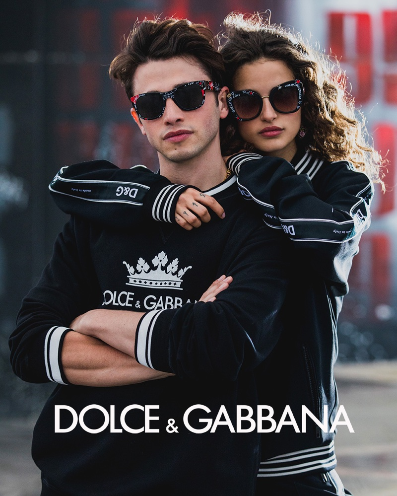 DOLCE & GABBANA #DGGRAFFITI SUNGLASSES CAMPAIGN
