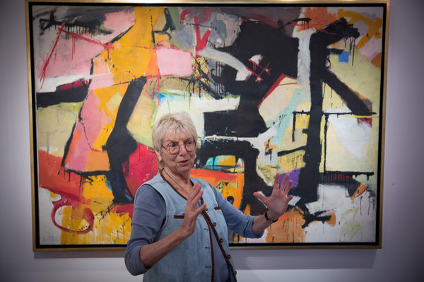 audrey flack Along with flack's paintings, the exhibition includes color cibachrome prints that were originally processed as 35mm slides to be used as studies projected beside the paintings in progress.