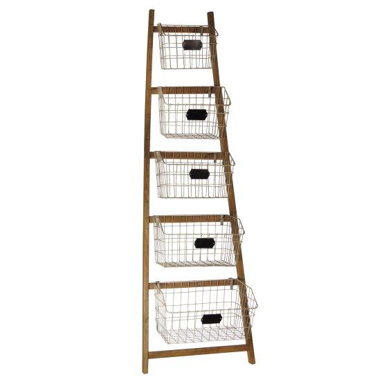 Ladder Hanging Baskets Hayneedle