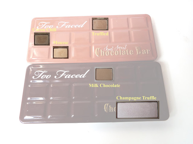 tuto make-up semi chocolate bar