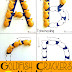 Goldfish Crackers Alphabet Tracing