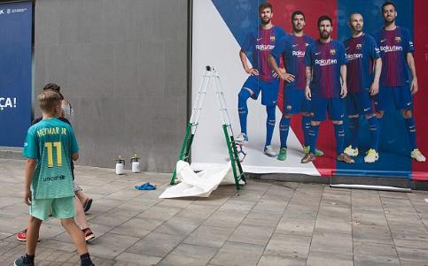 Barca xóa sạch sẽ các hình ảnh liên quan tới Neymar 5
