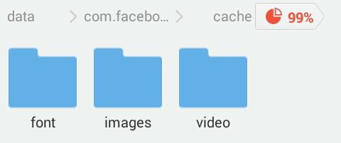 cara menyimpan video facebook lite