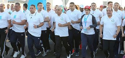 الرئيس السيسي يشارك فى الماراثون الدولي «الجميع من أجل السلام»