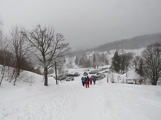 Przełęcz Wyżniańska (856 m n.p.m.)