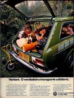 propaganda Variant - 1977. volkswagen. reclame de carros anos 70. brazilian advertising cars in the 70. os anos 70. história da década de 70; Brazil in the 70s; propaganda carros anos 70; Oswaldo Hernandez;