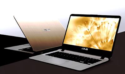 Laptop  ASUS VivoBook A407UA Dengan Sensor Fingerprint