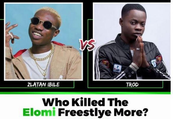 RAP BATTLE!! Zlatan Ibile vs Trod, Who Killed The - Elomi