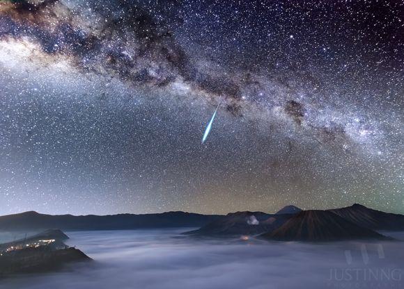 Chuva de meteoros Eta Aquaridas - foto