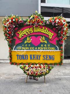 Bunga Papan Perkawinan