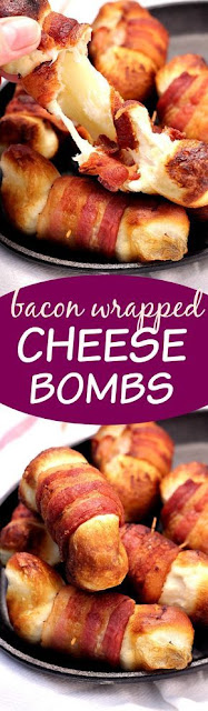 Bacon Wrapped Cheese Bombs Recipe