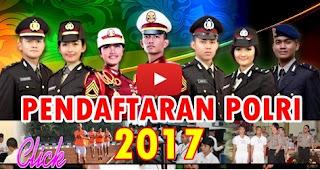 Info Pembukaan Pendaftaran Brigadir/Bintara Polri & Polwan T.A 2017