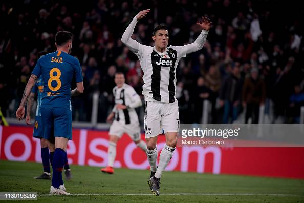 5231ee933a4 Juventus shares soared more than 20 per cent on Wednesday after Cristiano  Ronaldo s hat-trick saw them see off Atletico Madrid in the Champions  League.