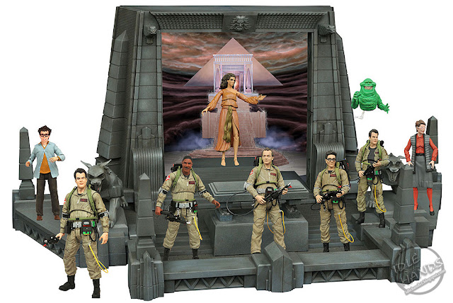 Diamond Select Ghostbusters Action Figure Diorama
