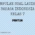 Bahasa Indonesia Kelas 7 - Soal Latihan Ciri-ciri Pantun dan Jenisnya