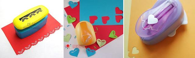 card border puncher, heart shape