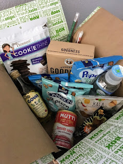 Degustabox is a subscription box that  includes a great mix of snacks, sweets, and pantry items.