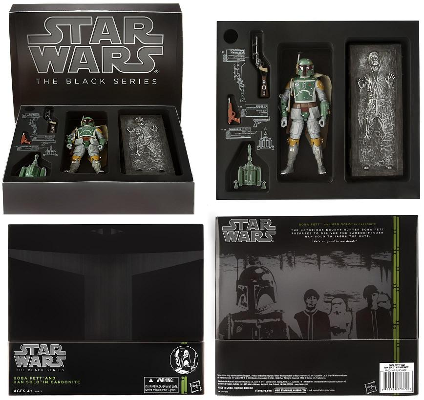 super popular 190ac bfdb5 San Diego Comic-Con 2013 Exclusive Boba Fett Star Wars Black Series Action  Figure with