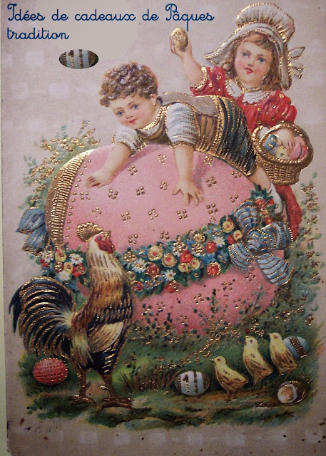 Des cadeaux de Pâques faits maison