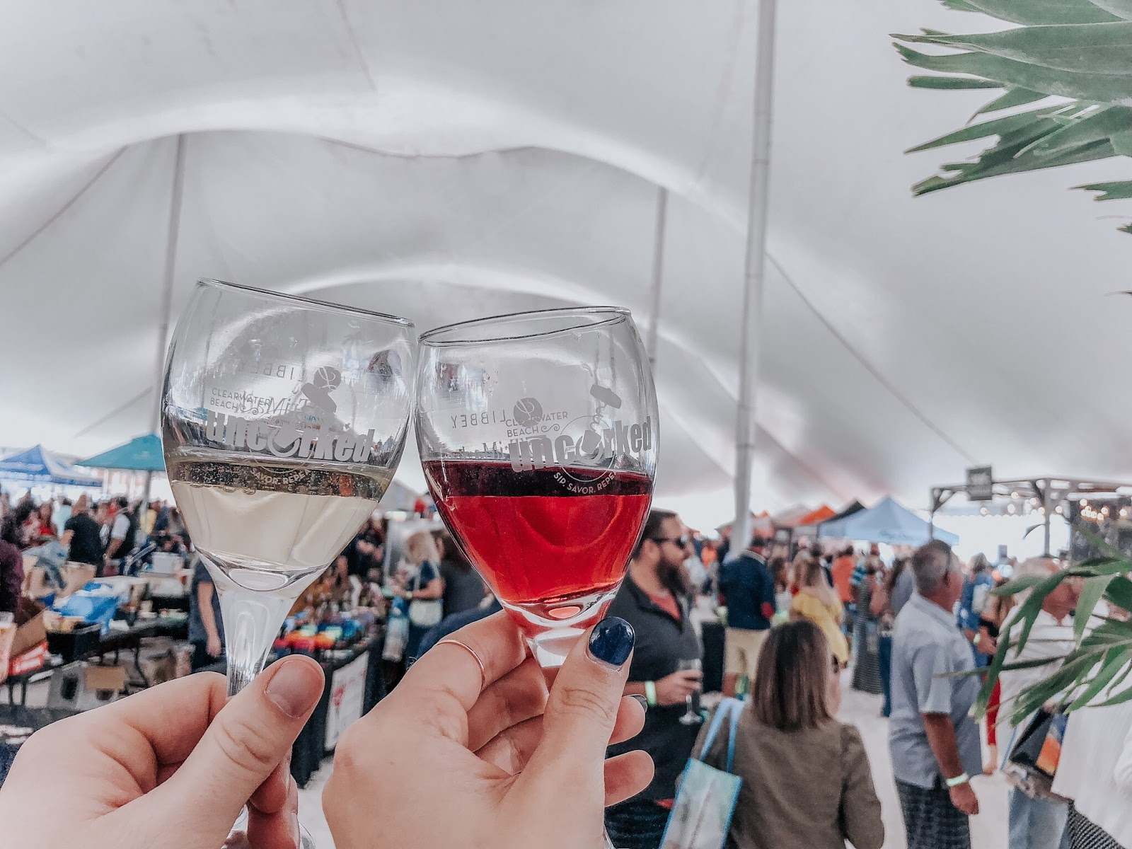 Wines at Clearwater Beach's Uncorked Food and Wine Festival