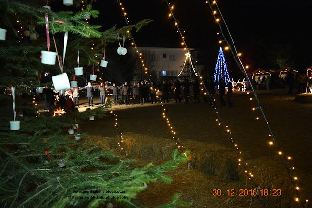 "O ""Μέγας Αλέξανδρος"" στο Χριστουγεννιάτικο Χωριό του Κόσμου. (ΒΙΝΤΕΟ-ΦΩΤΟ)"