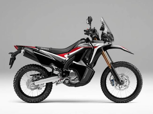 Warna Baru Honda CRF250Rally Extreme Black