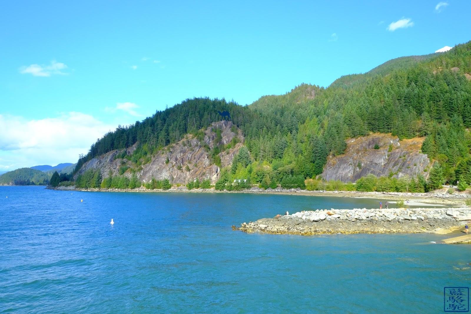 Le Chameau Bleu - Blog Voyage Canada Colombie Britannique -Porteau Cove