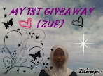 @1 may : MY 1ST GIVEAWAY (ZUE)