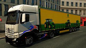 John Deere trailer mod