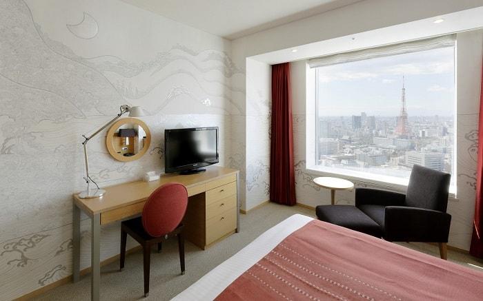 No. 12 Park Hotel Tokyo Artist Room 'Landscapes' designed by Junji Yamada
