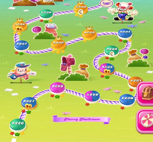 Candy Crush Saga level 5226-5240