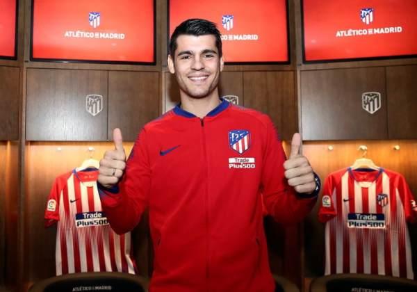 Álvaro Morata new Atletico Madrid signing